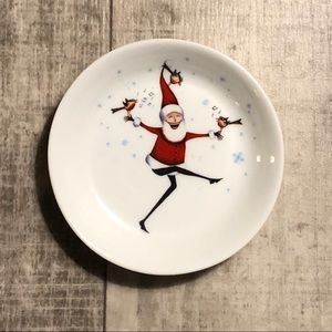 Clare Mackie UK Can Can Santa Mini Dish 2008